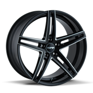 Touren TR73 Wheel 20x10 Black Milled 5x112 40mm Offset