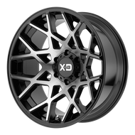 XD Series Chopstix XD831 Wheel 20x10 Black Machine 8x6.5 8x165.1 -24mm  - FREE LUGS & IN CART DISCOUNT!!
