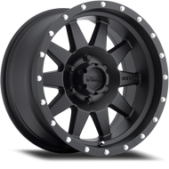 Method Race Wheels The Standard Wheel Matte Black 15x7 5x5.5 (5x139.7) -6mm -FREE LUGS!