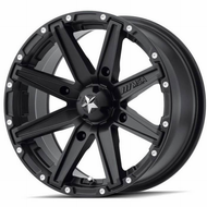 Msa Offroad Utv ® Clutch M33 Wheels Rims Satin Black 14x7 4x156 0 | M33-04756