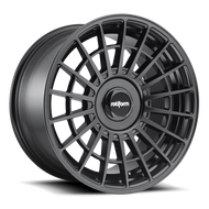 Rotiform ® LAS-R R142 Wheels Rims Black 18x8.5 5x100 5x4.5 (5x114.3) 35 | R142188503+35