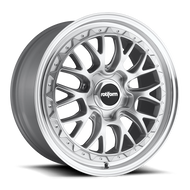Rotiform LSR R155 Wheel Silver Machine 19x10 5x112 25mm - FREE LUGS & IN CART DISCOUNT!