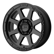 XD Series Addict 2 XD134 Wheel Matte Black 18x8.5 5x5.5 (5x139.7) 0mm  - FREE LUGS & IN CART DISCOUNT!!