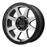 XD Series Addict 2 XD134 Wheel Matte Black Machined 18x8.5 5x5.5 (5x139.7) 0mm  - FREE LUGS & IN CART DISCOUNT!!