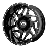 XD Series Fury 20x12 8x6.5 8x165.1 Black Milled -44 Wheels Rims | XD83621280344N