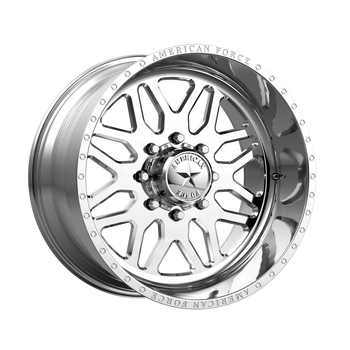 American Force® Trax SS AFTJB0 Wheels Rims 22x12 8x180 Polished -40  | AFTJB02G24-1-21