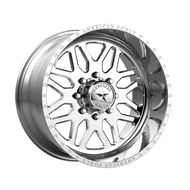 American Force® Trax SS AFTJB0 Wheels Rims 22x12 8x6.5 (8x165.1) Polished -40  | AFTJB02D22-1-21
