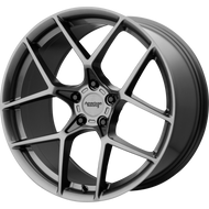 American Racing® Crossfire AR924 Wheels Rims 19x8.5 5x4.75 (5x120.65) Graphite 50 | AR92498534950