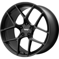 American Racing® Crossfire AR924 Wheels Rims 19x8.5 5x4.75 (5x120.65) Satin Black 50 | AR92498534750