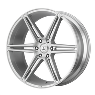 Asanti® Alpha 6 ABL25 Wheels Rims 24x10 6x5.5 (6x139.7) Brushed Silver 30 | ABL25-24106230SL