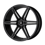 Asanti® Alpha 6 ABL25 Wheels Rims 22x10 6x5.5 (6x139.7) Gloss Black Milled 30 | ABL25-22106230BK
