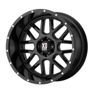 XD Series® Grenade XD820 Wheels Rims 20x10 8x6.5 (8x165.1) Gloss Black -24  | XD82021080324N