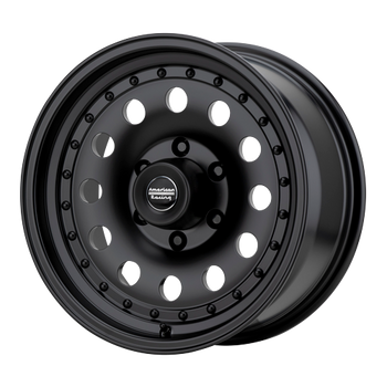 American Racing Outlaw II AR62 Wheel 16x8 8x6.5 (8x165.1) Satin Black 0MM