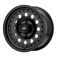 American Racing Outlaw II AR62 Wheel 16x7 8x6.5 (8x165.1) Satin Black -8 MM