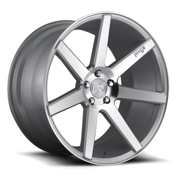 Niche® Verona M179 Wheels Rims 19x8 5x112 Gloss Silver Machined 34 | M179198543+34