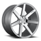 Niche® Verona M179 Wheels Rims 20x10 5x4.5 (5x114.3) Gloss Silver Machined 40 | M179200065+40