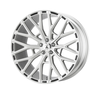 Asanti Leo ABL21 Wheel 22x10.5 Brushed Silver - Custom Bolt Pattern & Offset 35-45mm  - FREE LUGS & IN CART DISCOUNT!!