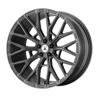 Asanti Leo ABL21 Wheel 22x9 Matte Graphite - Custom Bolt Pattern & Offset 15-31mm | ABL21-22900015MG