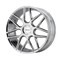 HELO HE912 Wheel 22x8.5 Chrome Custom Drilled BP 40mm Offset | HE91222800240