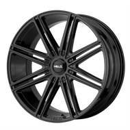 HELO HE913 Wheel 22x9.5 Gloss Black Custom Drilled BP 15mm Offset - IN CART DISCOUNT!