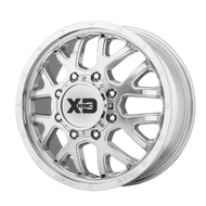 XD Series® Grenade Dually XD843 - Front Wheels Rims 17x6.5 8x210 Chrome 111 | XD843765892111