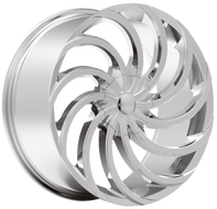 Elure 047 Wheel 22x8 5x108 5x4.5 (5x114.3) Chrome 38MM