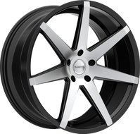Ravetti M7 Wheel 20x8.5 5x108 Black Machined 38MM