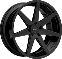 Ravetti® M7 Wheels Rims 20x8.5 5x112 Full Gloss Black 35 | RAV-M7-2874B