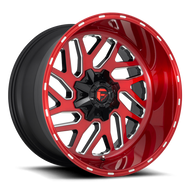 Fuel® Triton D691 Wheels Rims 22x10 8x170 Candy Red Milled -18  | D69122001747