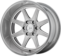 XD Series® Pike XD844 Wheels Rims 20x9 5x150 Titanium Brushed Milled 18 | XD84429058618