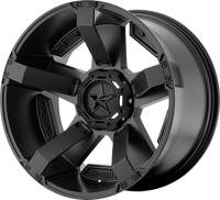 XD Series Rockstar 2 Wheels 18x9 6x120 & 6x5.5 Black 0mm | XD81189078700