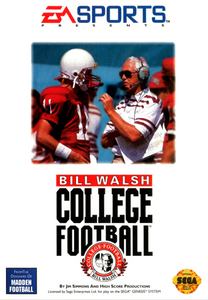 *USED* BILL WALSH COLLEGE FOOTBALL (#014633071450)