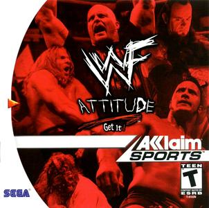 *USED* WWF ATTITUDE (#021481831815)
