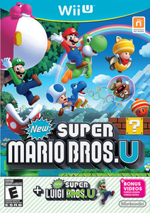 *USED* NEW SUPER MARIO BROS + LUIGI U (#045496903251)