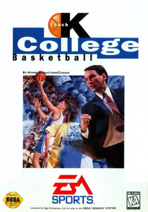 *USED* COACH K COLLEGE BASKETBALL (#014633075212)