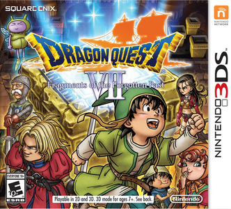 *USED* DRAGON QUEST VII FRAGMENTS OF THE FORGOTTEN PAST (#045496743703)