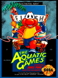 *USED* AQUATIC GAMES (#014633071696)