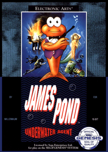 *USED* JAMES POND (#014633070538)