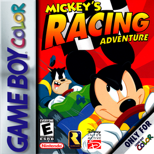 *USED* MICKEYS RACING ADVENTURE [E] (#045496731014)