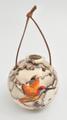 Hummingbird Christmas Ornament  Horse Hair Pottery
