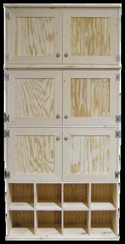 CUSTOM   Unfinished Cabinets U0026 Cubbies