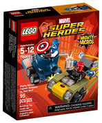 Lego Mighty Micros Captian America vs Red Skull 76065