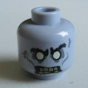 Zombie LEGO Minifigure Head
