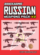 Brickarms Russians WW2 Weapons Pack