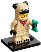 LEGO Minifig Series 21  Pug Costume Boy