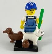 LEGO Minifig Series 19 Dog Sitter