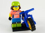 LEGO Minifig Series 19 Mountain Biker