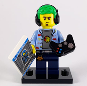 LEGO Minifig Series 19 Video Game Champ