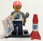 LEGO Minifig Series 20 Space Fan