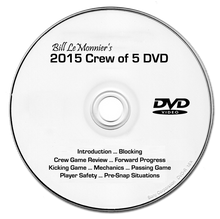 Bill LeMonnier's 2015 Crew of 5 DVD - High School Edition